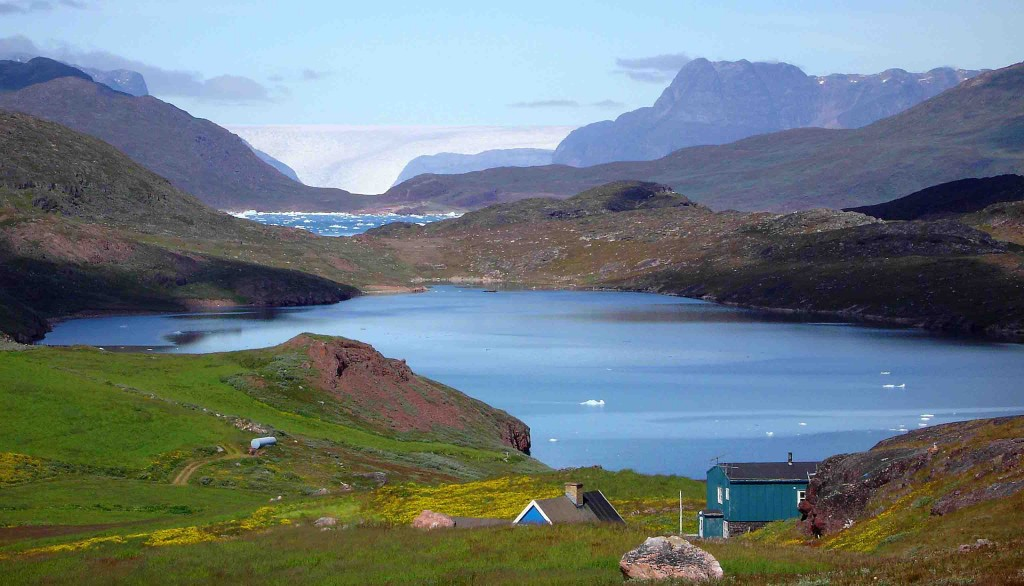 kayak in Greenland, biking to Nunataaq farms