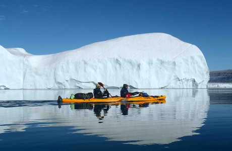 15 días de kayak y trekking glaciar en Groenlandia
