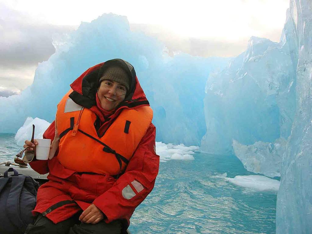 caiac, bici i trèkking a Groenlàndia, Qooroq icebergs