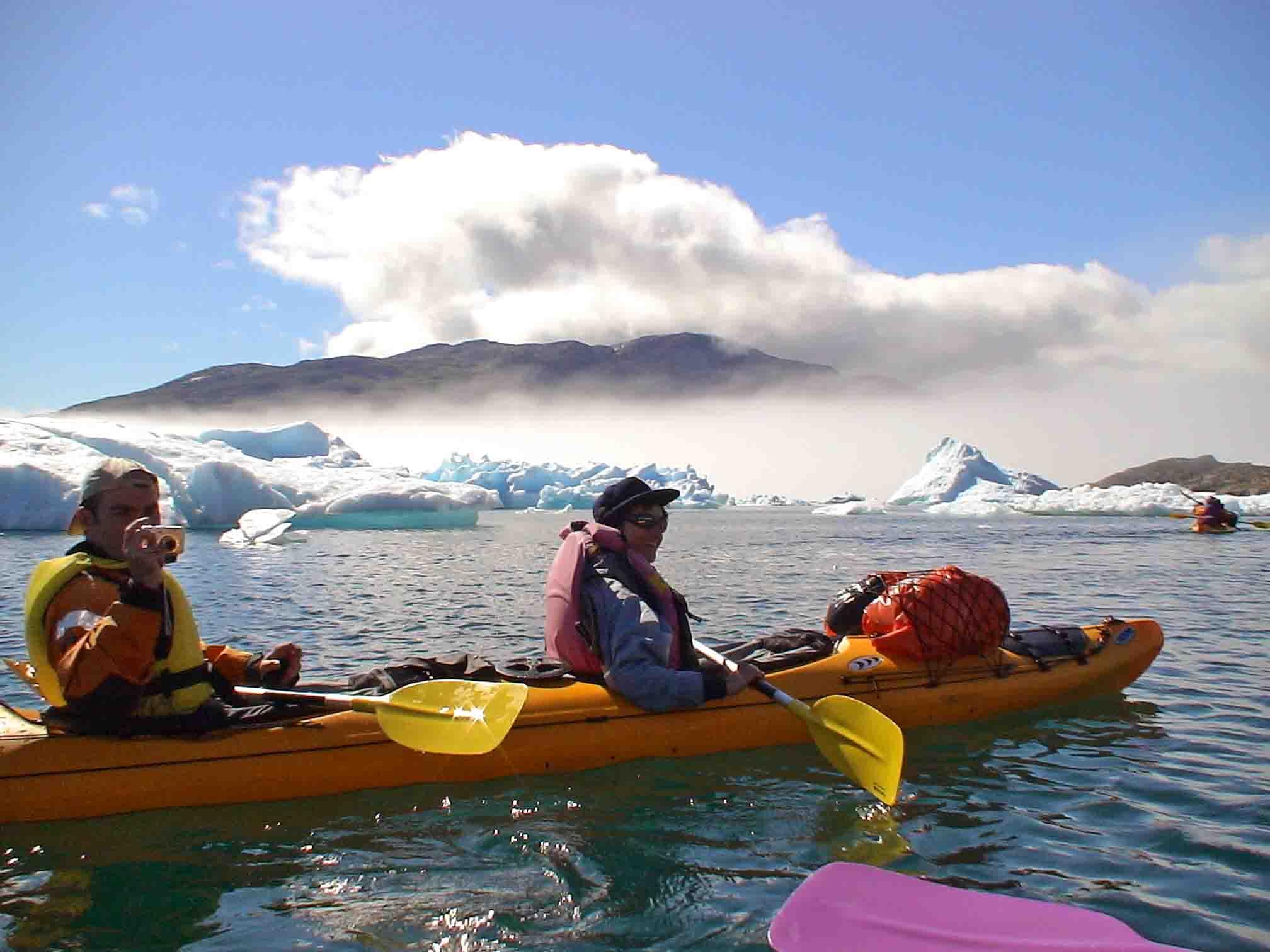Kayak Groenlandia Ventajas del silencioso kayak... - Kayak ...