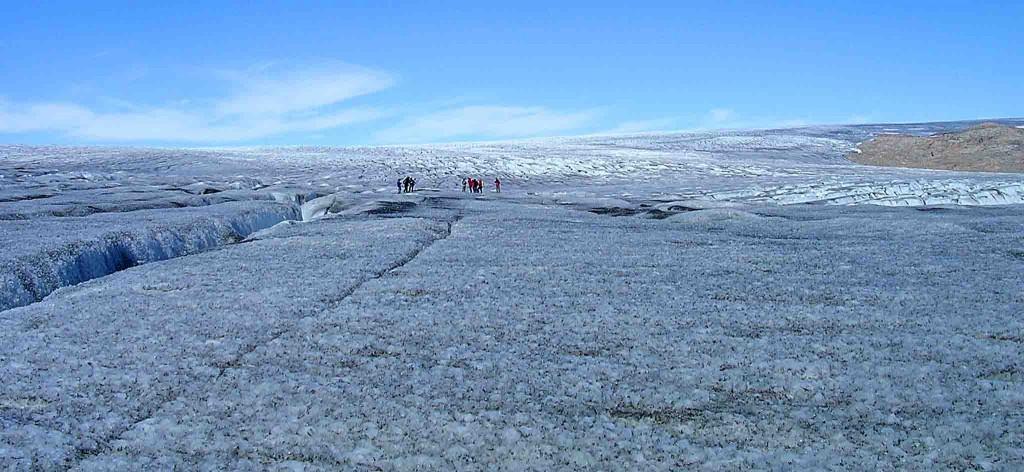 caiac a Groenlàndia, 15 dies qaleraliq trèkking sobre el gel