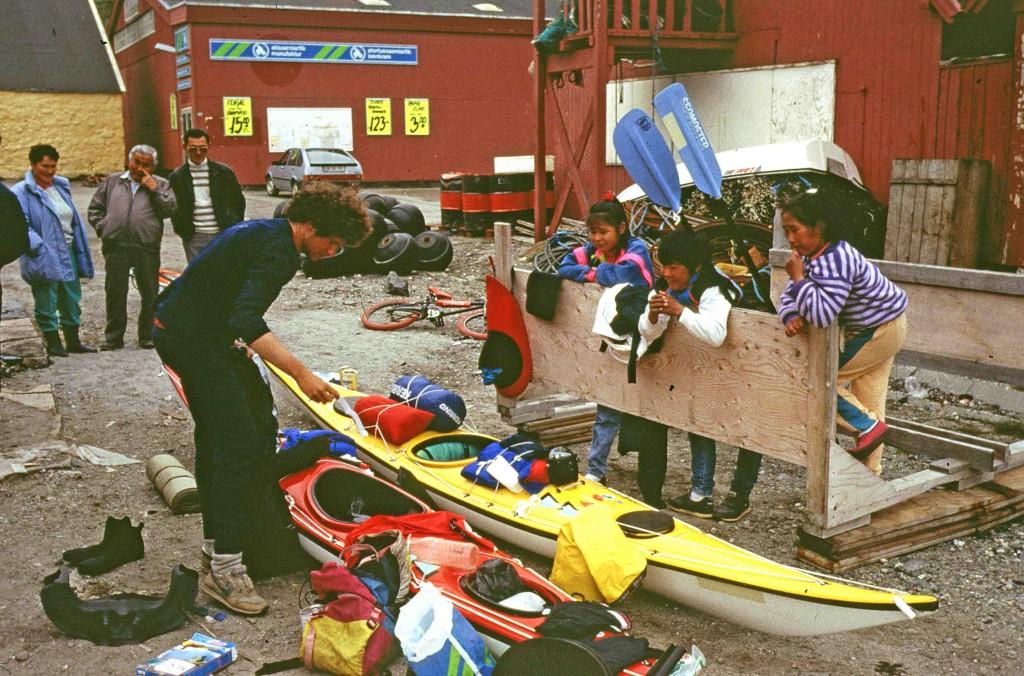 kayak en Groenlandia, Paamiut, expedición Circumpolar
