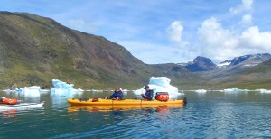 kayak in Greenland, multiaventure bike, kayak and trekking trip