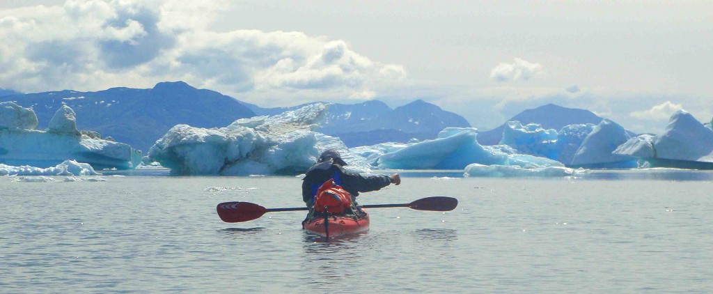 caiac a Groenlàndia, 8 dies icebergs i glaceres