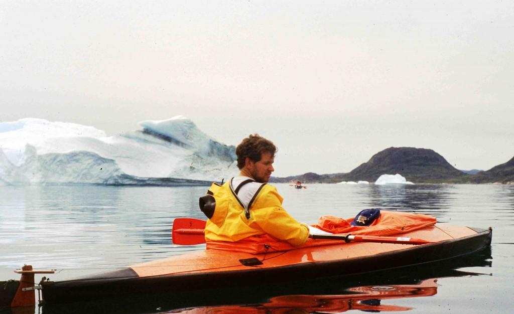 kayak en Groenlandia, ramón Larramendi, inicios de Tierras Polares