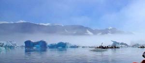 caiac a Groenlàndia 8 dies, icebergs