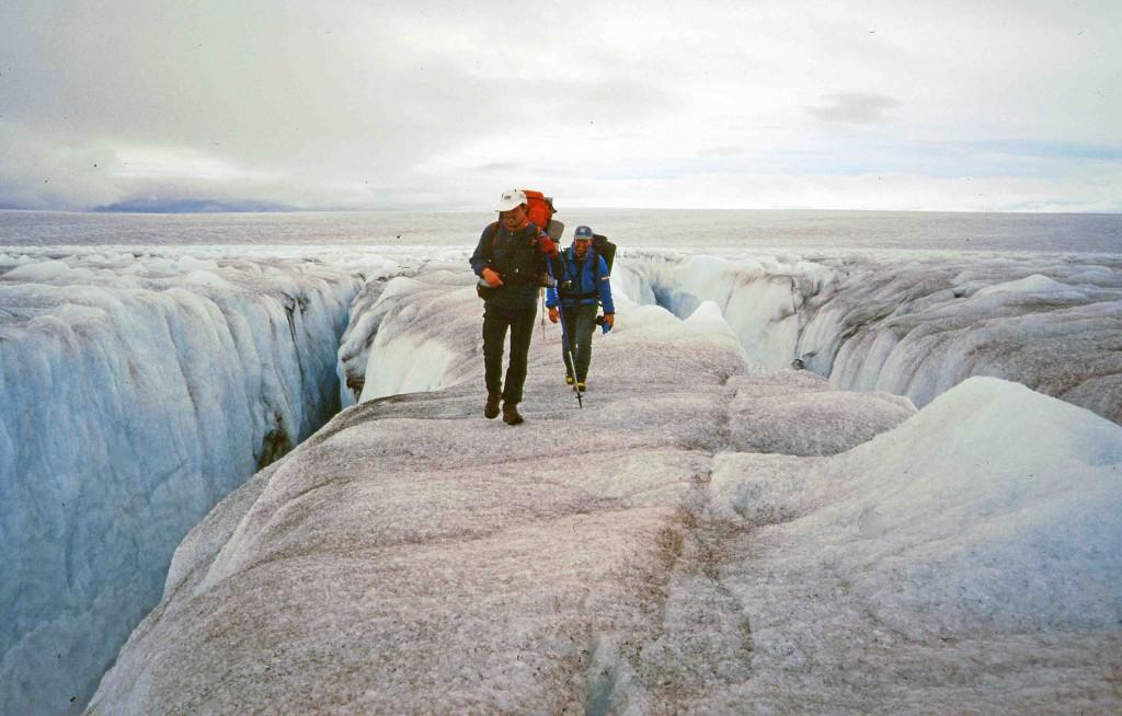caiac a Groenlàndia, 8 dies trèkking sobre el gel i glaceres