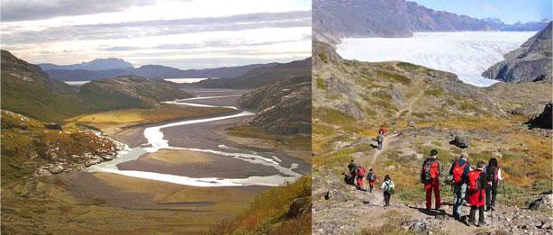 kayak, bici y trekking Groenlandia, mil flores y glaciar kiattuut