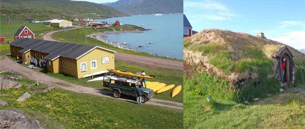 caiac a Groenlàndia, qassiarsuk i brattahlid