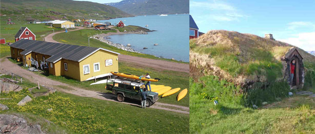 caiac a Groenlàndia, 15 dies qassiarsuk, brattahlid
