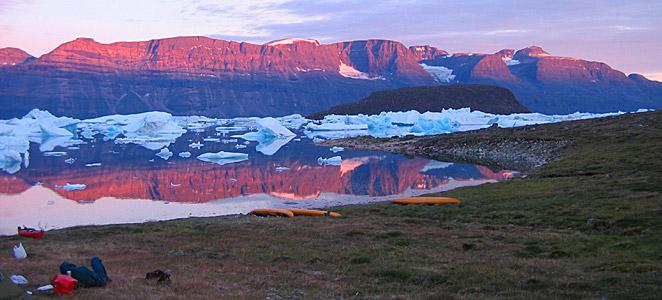 Viaje de kayak en Groenlandia, Qingaarsuup