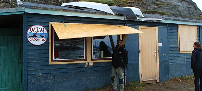 Viaje de kayak en Groenlandia, Qaqortoq