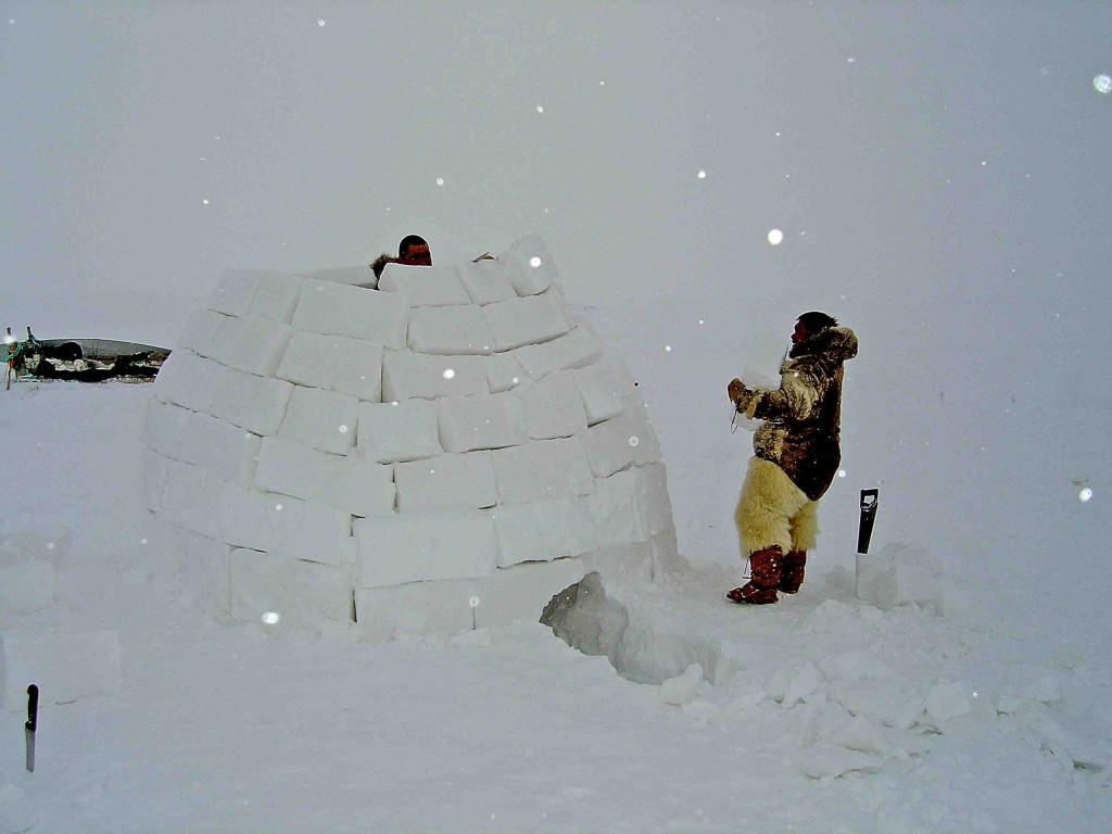 groenlandia, con los inuit de thule