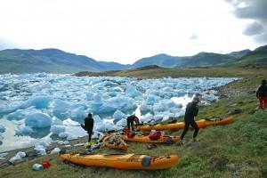 caiac i trèkking a Groenlàndia 8 dies